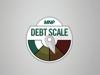 MNP LTD Debt Scale